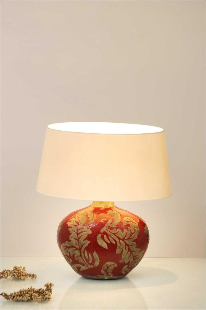 Tischlampe 1-flg. TOULOUSE OVAL Holländer 057 K 1206
