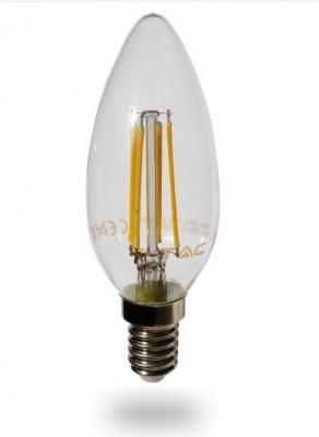 4W = 30W LED dimmbar Leuchtmittel Kerzenform E14