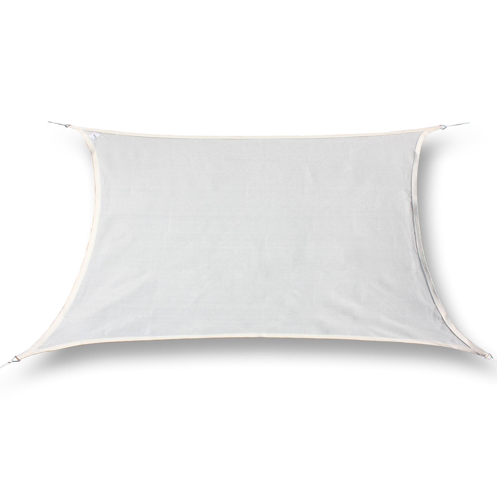 sonnensegel wasserdicht rechteck 2x4m 3 farben garten. Black Bedroom Furniture Sets. Home Design Ideas