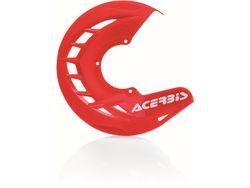 ACERBIS X-BRAKE Bremsscheibenschutz rot, in Verbindung mit Anbaukit AC23389 f. GasGas EC 250/300  2017-
