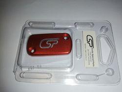 Deckel Handbremszylinder Nissin für Honda, GasGas ,rot