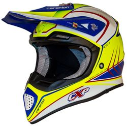 CX-1 FLASH CARBON neon yellow-navy blue-white