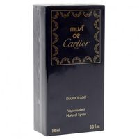 Cartier Must Pour Femme 100 ml Deodorant Spray  old vintage Version