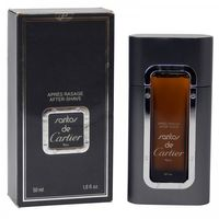 Cartier Santos 50 ml After Shave rechargeable de old vintage Version