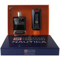 Nautica Latitude Longitude 100 ml EDT Eau de Toilette Spray + After Shave Gel 125 ml