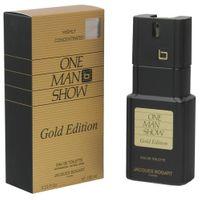 Jacques Bogart One Man Show 100 ml EDT Eau de Toilette Spray Gold Edition
