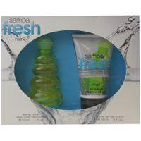 Perfumer's Workshop Samba Fresh Man 100 ml EDT Eau de Toilette Spray + Duschgel