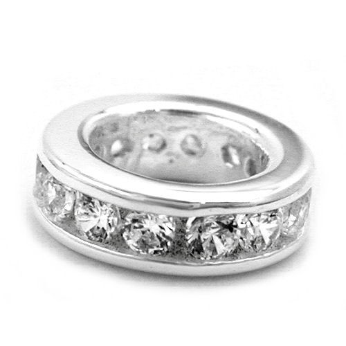 Taufring Zirkonia 925 Silber