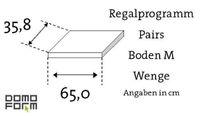Boden Pairs M - Wenge