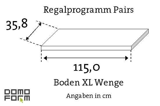 Boden Pairs XL - Wenge