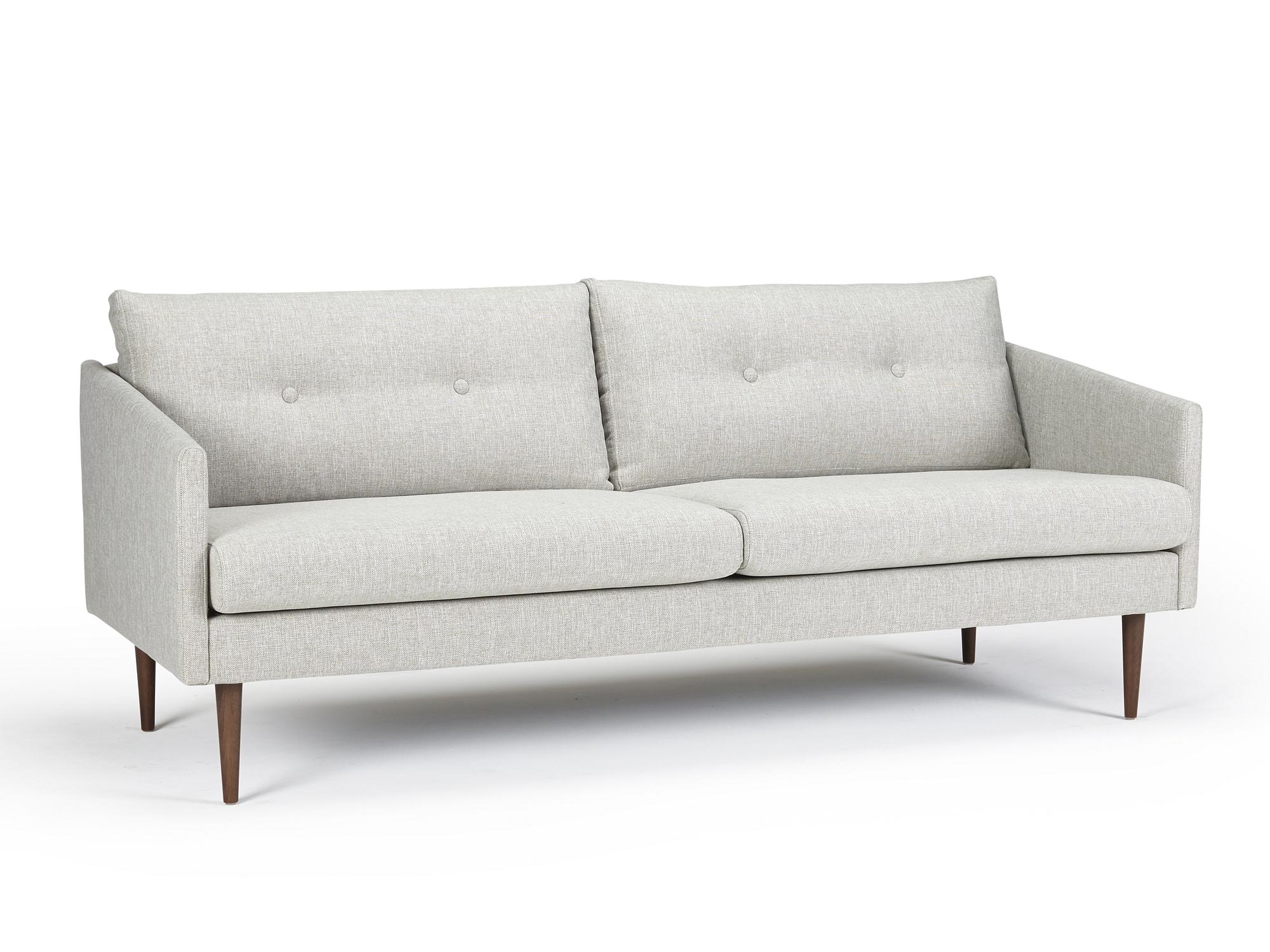 Sofa 3sitzer Good Modernes Design Sofa Hygge Anthrazit Cm