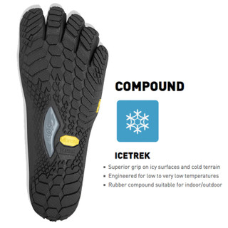 Vibram FiveFingers Trek Ascent Insulated Women + Zehensocke 11005 – Bild 3