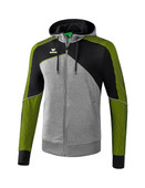 Erima Premium One 2.0 Trainingsjacke mit Kapuze 001