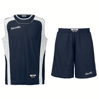 Spalding 3-teiliges Camp-Set Tank & Shorts – Bild 2