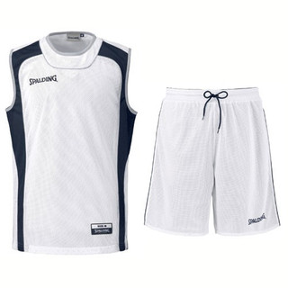 Spalding 3-teiliges Camp-Set Tank & Shorts – Bild 3