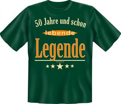 Witziges T-Shirt zum Geburtstag - 50 Jahre und schon lebende Legende - Lustiges Geschenk für Leute mit Humor Bild 2
