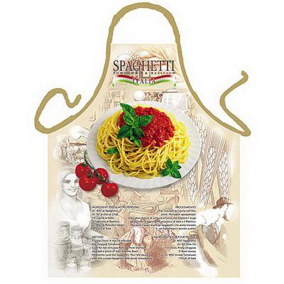 Italienische Schürze - Spaghetti Italia - Kochschürze - mit Urkunde