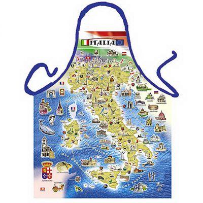 Schürze - Italia - Schürze mit Landkarte Italien - mit Urkunde Bild 2