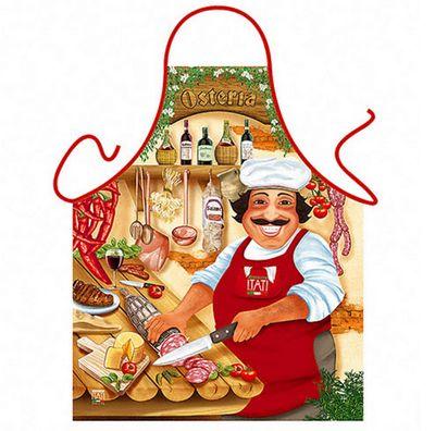Sexy Schürze - Osteria - Italienische Kochschürze - mit Urkunde