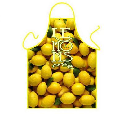 Schürze - Lemons - Zitronen Kochschürze - mit Urkunde