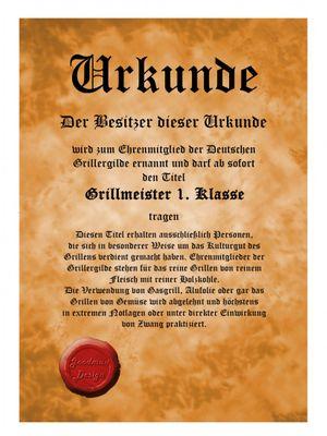 Lustige Schürze Schurz - Römer Prätorianer - Scherzartikel Karneval - Urkunde Bild 3