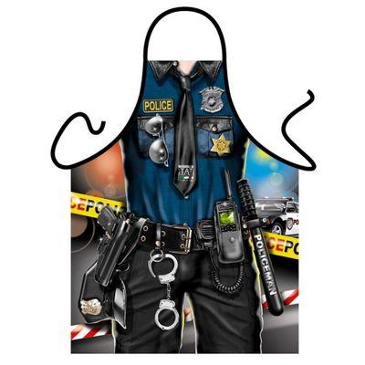 Sexy Schürze - Police Man - Verkleidung für Karneval und Mottopartys - Urkunde Bild 2