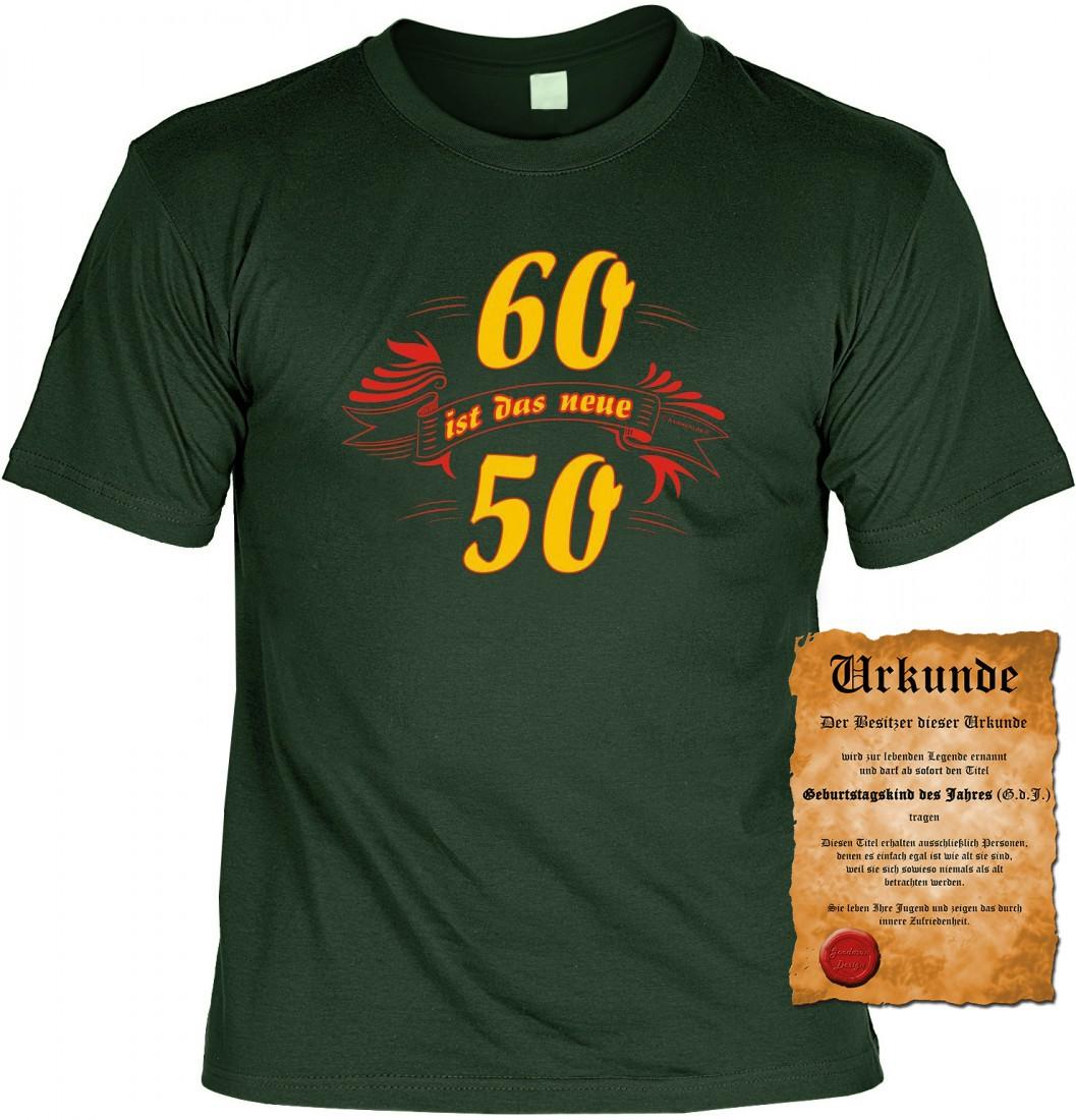 Lustiges t shirt 60 ist das neue 50 funshirt 60 - Geschenk zum 60 mutter ...