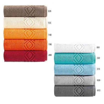 Badvorleger 50x70 - 1200g/m² - Badematte Badteppich in Topqualität aus 100% Baumwolle - Farbe Sea