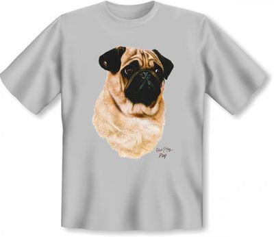 T-Shirt - Lustiger Mops - auch als cooles Geschenk für Hunde Fans Bild 2