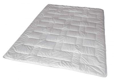 Duo Winter Steppbett 135 x 200 cm - 100% Thinsulate Füllung (1000 g) - Walburga Premium Line Bettdecke extra warm - Waschbar bis 60 Grad - trocknergeeignet – Bild 1