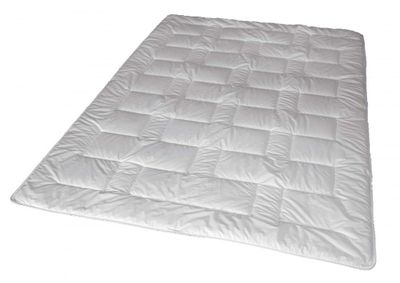 Duo Winter Steppbett 135 x 200 cm - 100% Thinsulate Füllung (1000 g) - Walburga Premium Line Bettdecke extra warm 001