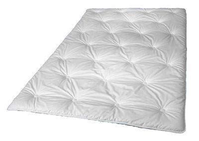 Leichtes Steppbett 155 x 220 cm - Füllung mit Tencel Fasern (1000 g) - Walburga Fascination Bettdecke für die Übergangszeit - Waschbar bis 60 Grad - trocknergeeignet