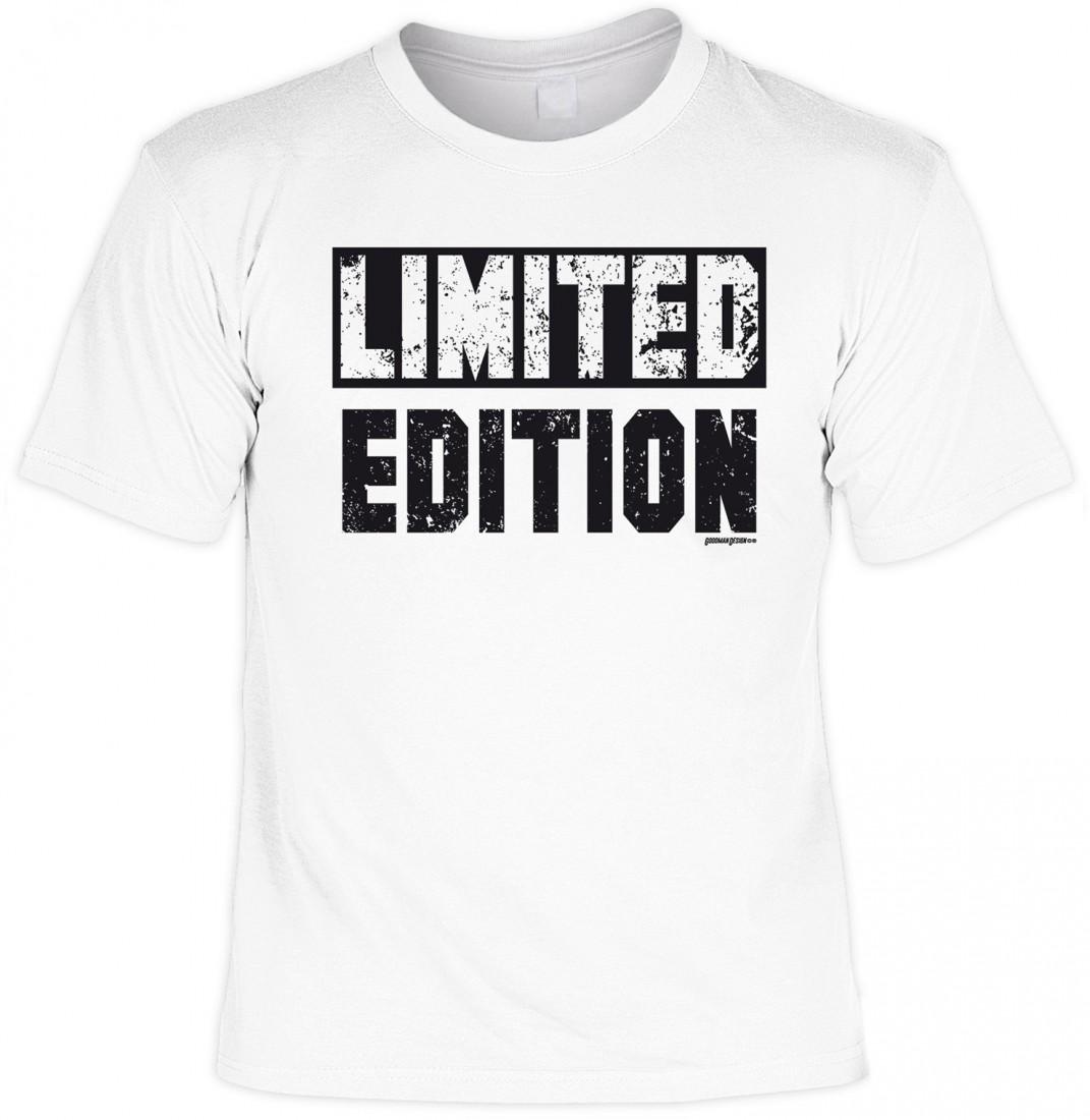 T Shirt Mit Coolem Spruch   LIMITED EDITION   Funshirt Sprüche Spruch  Geschenk 001 ...