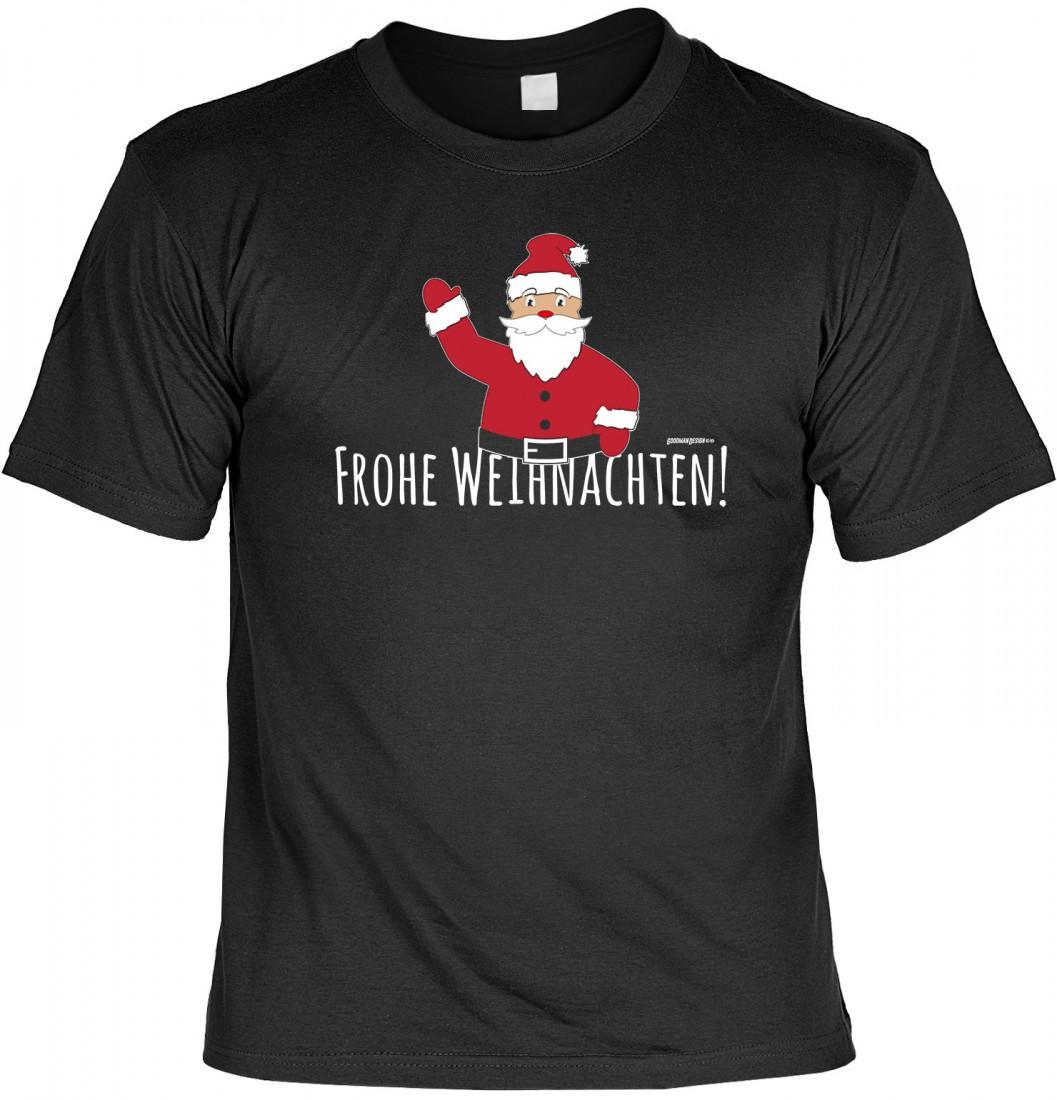 Lustiges T-Shirt mit Aufdruck - Frohe Weihnachten - Advent und ...