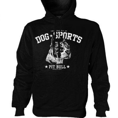 Kapuzenshirt Hoodie Pullover Sweater - Pit Bull Pitbull Hund 002