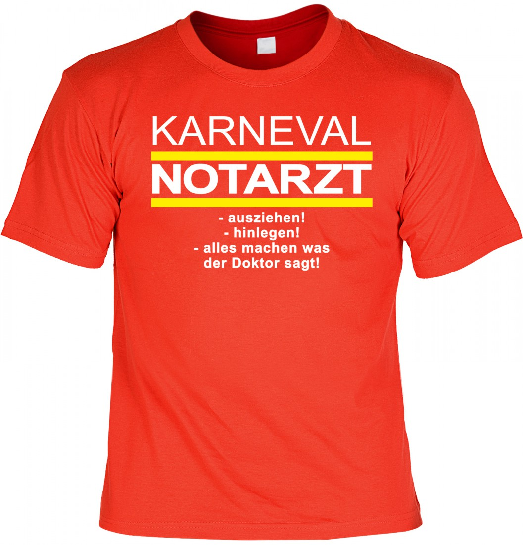 t shirt karneval notarzt lustiges shirt geschenk. Black Bedroom Furniture Sets. Home Design Ideas