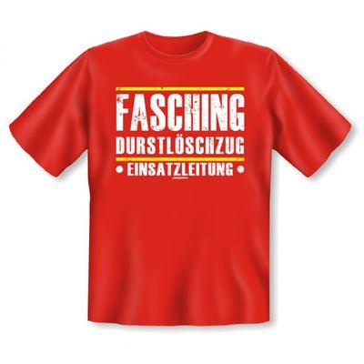 Lustiges T-Shirt als Kostüm oder Verkleidung - Fasching Durstlöschzug - Funshirt auch als Geschenk Bild 2