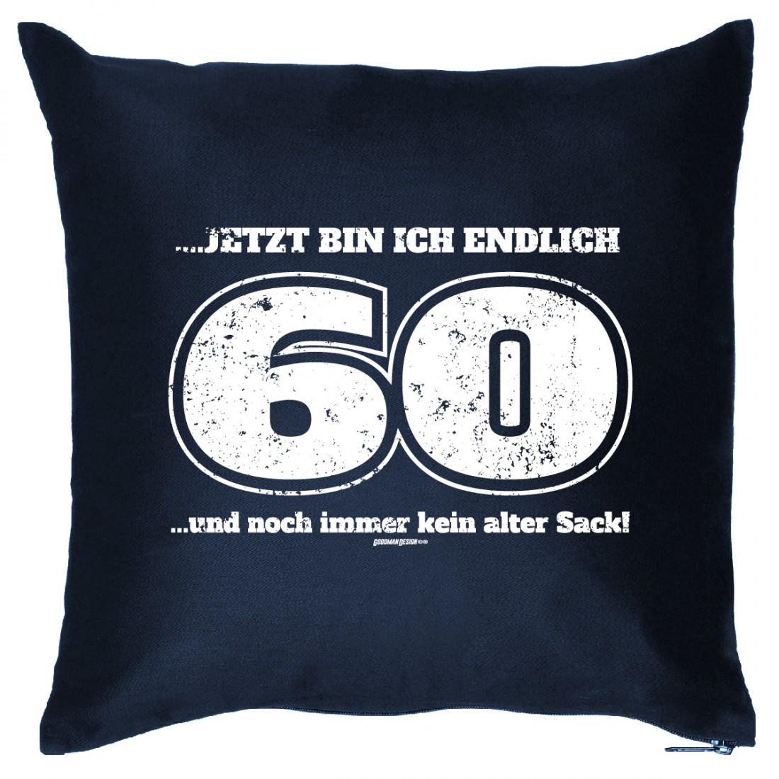 Kissen Sofakissen Geschenk 60 Geburtstag 60 Jahre Und Kein Alter