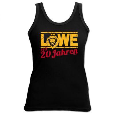 Damen Top als Geschenk zum 20. Geburtstag - Löwe 20 Jahre - Originelles Geburtstagsgeschenk mit sexy Look Bild 2