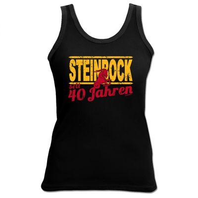 Damen Top als Geschenk zum 40. Geburtstag - Steinbock 40 Jahre - Originelles Geburtstagsgeschenk mit sexy Look