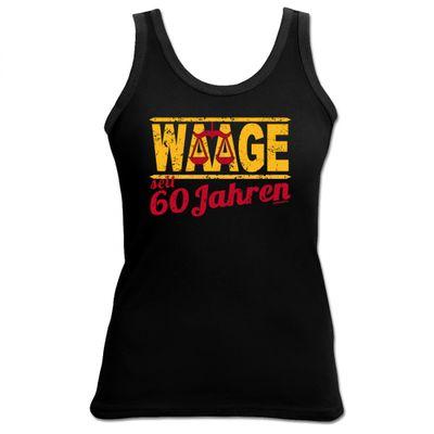 Damen Top als Geschenk zum 60. Geburtstag - Waage 60 Jahre - Originelles Geburtstagsgeschenk mit sexy Look Bild 2