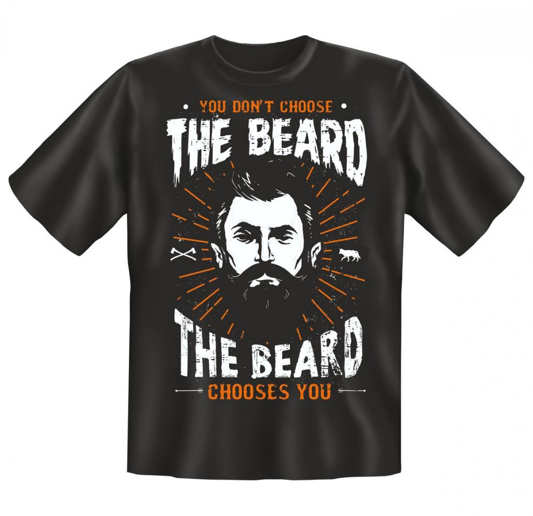 t shirt witziger spruch the beard der bart funshirt. Black Bedroom Furniture Sets. Home Design Ideas