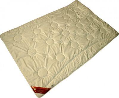 Bettdecke Modicana 155 x 200 / 900 g - Leichtes Steppbett für Sommer / Übergangszeit mit 100% Merino Füllung 001