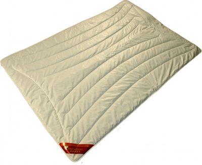 Bettdecke Modicana 200 x 200 / 1200 g - Leichtes Steppbett für Sommer / Übergangszeit mit 100% Kamelhaar Füllung