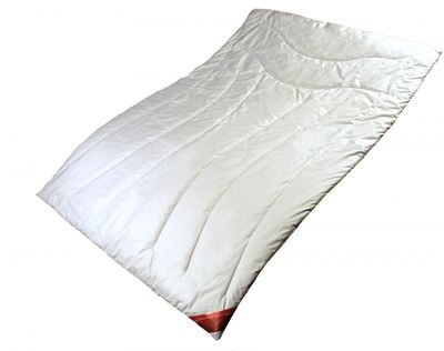 Bettdecke 135 x 200 / 1800 g - Warmes Trio-Steppbett Garanta mit 100% Cashmere Füllung - Warme Steppdecke für den Winter