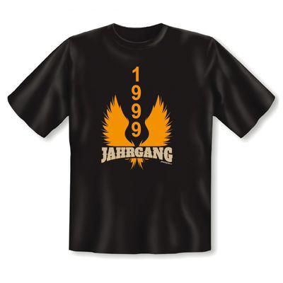 T-Shirt als lustiges Geschenk zum Geburtstag - 1999 Jahrgang - Fun Hemd als Geburtstagsgeschenk - Schwarz Bild 2