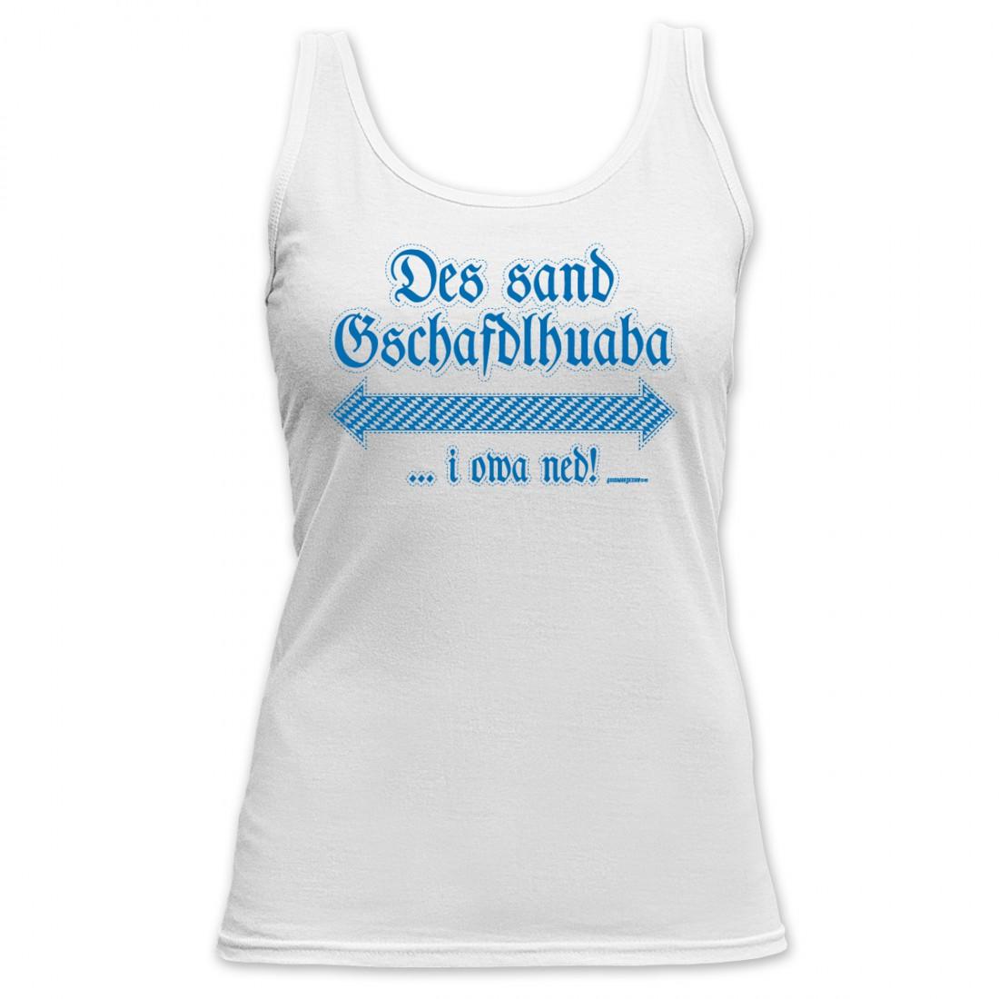 Mädchen Damen Top Gschafdlhuaba Party Shirt Bayerisch Spruch