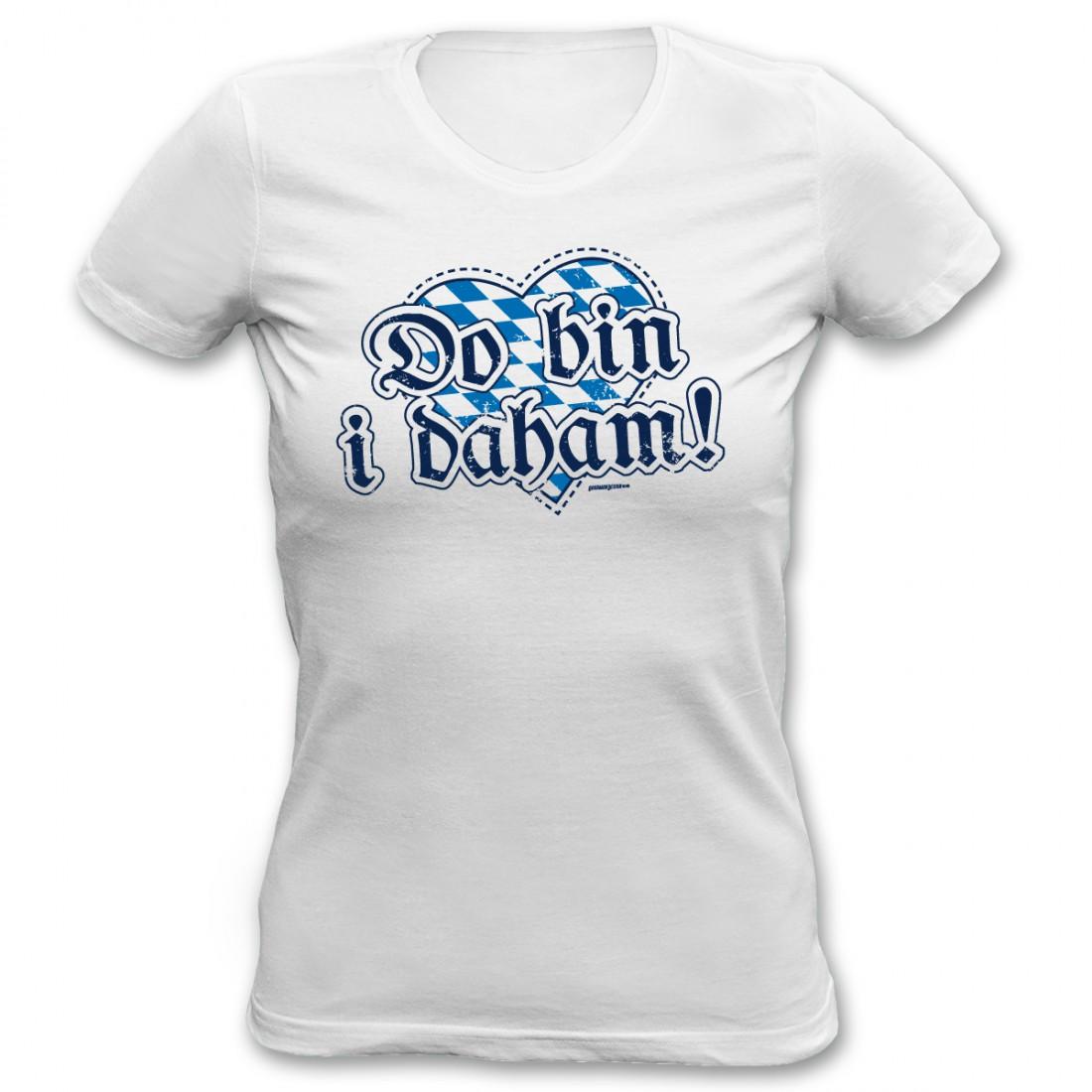 Do Bin Witziges T Daham Damen I Geschenk Bayerisch Shirt Mädchen rexodWQBEC