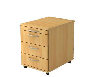 Rollcontainer mit 3 Schubladen DR-Büro V1606 in 4 Farben - Robuster Container, Belastung pro Schub 8 kg – Bild 2