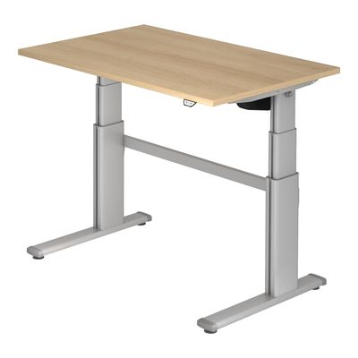 Steh-Sitz Schreibtisch DR-Büro Serie XD - 120 x 80 cm - 7 Farben - elektronisch verstellbar bis 130 cm – Bild 6